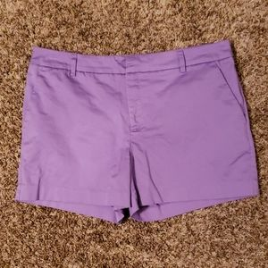 Venus Lilac Casual Shorts with Pockets